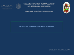 COLEGIO SUPERIOR AGROPECUARIO DEL ESTADO