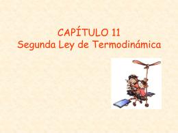 TERMO CAP11 2° Ley
