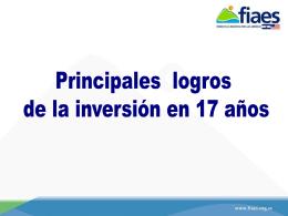 ppt 4.79 mb - Fondo de la Iniciativa para las Américas