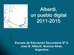 Alberdi, un pueblo digital - Jóvenes por la Inclusión Digital
