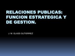 Relaciones Públicas y sus funciones