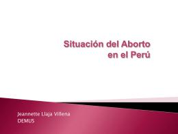 El aborto terapéutico: un asunto de violación de derechos