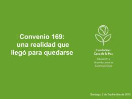 Convenio 169 - Casa de la Paz