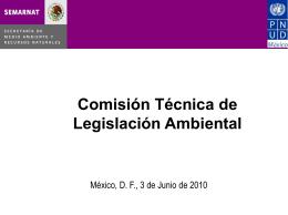 Comisión Técnica de Legislación Ambiental