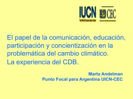 El papel de la comunicación, educación, participación y