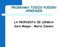 34 -La propuesta de Lengua