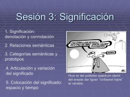 Sesión 3: Significación