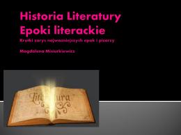 Historia Literatury PL