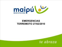 Volver - Municipalidad de Maipú