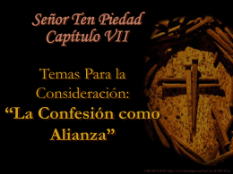 Catequesis Capitulo VII_Senor Ten Piedad