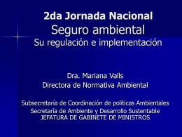 daño ambiental - Secretaria de Ambiente y Desarrollo Sustentable