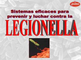 Legionelosis es una Neumopatía grave y se transmite por