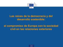 Apoyo de la UE