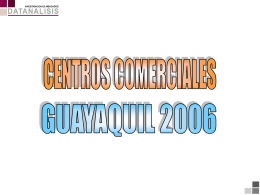 Cooperativo Centros Comerciales Guayaquil 2006