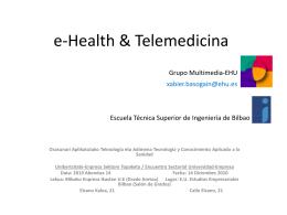 e-Health & Telemedicina ( ppt , 5.62 MB )