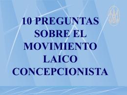 EL MLC - Movimiento Laico Concepcionista