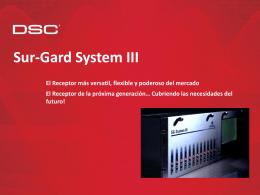Sur-Gard System III