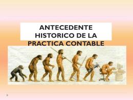 Contabilidad I (Historia contable)