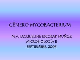 GeNERO_MYCOBACTERIUM_2008