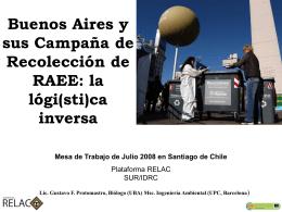 e-Scrap en la Argentian