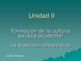 romanoII - CAU-UNLP