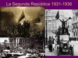 4º ESO La Segunda República