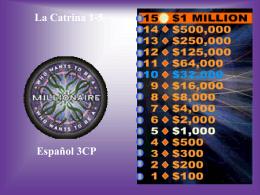 LC 1-5 cultura - millionaire
