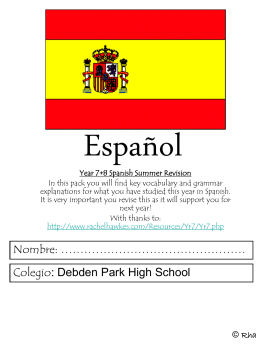 Español - Debden Park High School