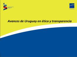 Presentación Uruguay - Dirección Nacional de Aduanas