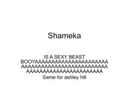 Shameka scavenger hunt - Srta-Marsh-Wiki