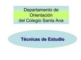 tecnicas estudio amypa - AMyPA Santa Ana Fraga