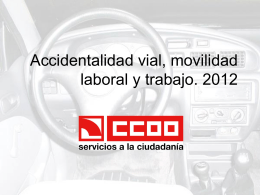 Informe accidente 2007/2012