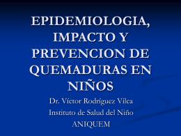 Epidemiología, Impa..
