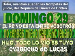 Lectura Domingo XXIX - Calvariomarbella.com