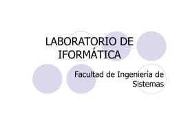 Labinfo_a_Monitores - Laboratorio de Informatica