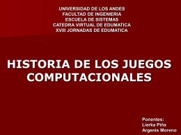 Diapositiva 1 - Edumatica - Universidad de Los Andes