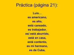 Práctica (página 21 y 22)