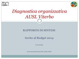 Diagnostica organizzativa