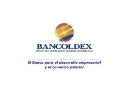 Pagos - Bancoldex