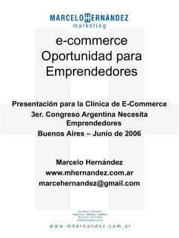 e-commerce - Marcelo Hernandez