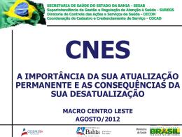 Total Geral - Secretaria de Saúde do Estado da Bahia