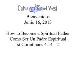 1 Corinthians 4:14-15