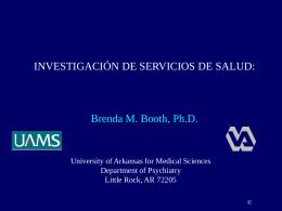 Investigación en los servicios