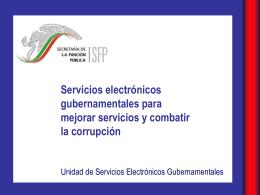 Unidad de Servicios Electrónicos