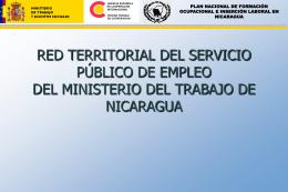 RED TERRITORIAL DEL SERVICIO PÚBLICO DE EMPLEO