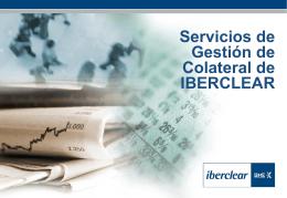 Más información sobre los Servicios de Colateral