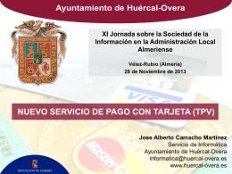 servicio tpv - Ayuntamiento de Vélez Rubio
