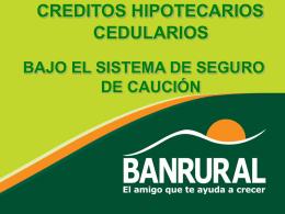 Sesion 09-2013 Creditos para Mejora y ampliacion de