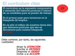 elaboracion de un curriculum vitae2