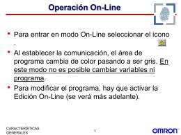 INICIACIÓN AL CX-PROGRAMER - II